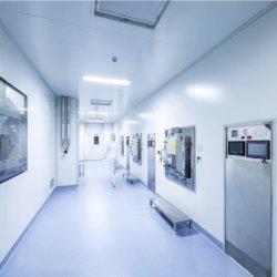 50mm/75mm/100mm/150mm EPS/PU/Rockwool/favo de mel para salas modulares para a indústria farmacêutica/Indústria Alimentar/ Laboratory/sala de operação com a norma ISO 9001 Certificado