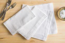 Logo d'impression personnalisée Hot-Selling serviette de papier vierge 1/8 Dîner de pliage du papier