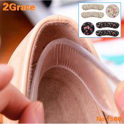 العناية بالقدم ذاتية اللصق PU Gel، قاعدة مكواة الكعب العالي، بطانات الكعب للسيدات، شرائط لاصقة للأحذية ذات المداسات العالية