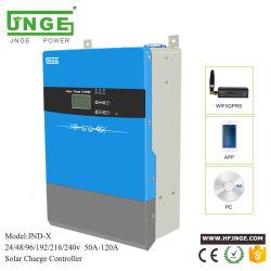 100AMP 220V PWM Controlador de carga solar Manual para el sistema de Energía Solar