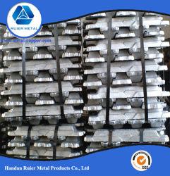 Lingotto di alluminio per Al99.90, Al99.85, Al99.70A, Al99.70, Al99.60, Al99