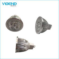 RoHS를 가진 알루미늄 4W E27/MR16/GU10 LED 스포트라이트
