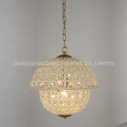 Hutstumpen-antike handgemachte hängende Kristalllampe