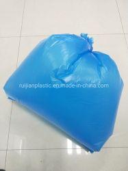 PE Plastique bleu de sacs à ordures de classification multifonction