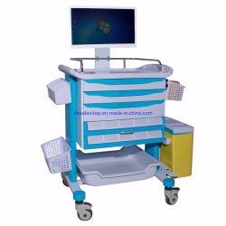 Krankenhaus ABS medizinische Notlaufkatze/medizinische Karren mit Rädern