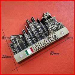 Métal personnalisé Milano réfrigérateur Fridge Magnet Cadeau souvenir