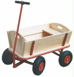 Strumenti di giardino esterni del passeggiatore del vagone del carrello dei giocattoli dei capretti dei bambini