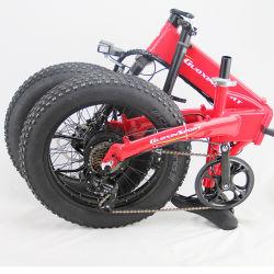 """Elektrisches Schnee E-Fahrrad des variablen der Geschwindigkeits-26 """" fetten Gummireifen-*4.0"""