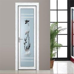 알루미늄 욕실 도어 디자인 스윙 도어 PVC 욕실 플라스틱 도어