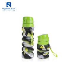 Ampliable de silicona portátil Vaso para acampar regalo de promoción exterior Senderismo Picnic sin BPA