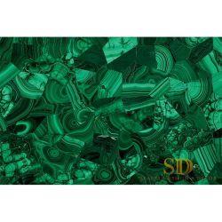 Meeste Luxe en Eersteklas Semi Plak van de Steen van het Malachiet van de Edelsteen Groene voor Lijst en het Meubilair voor Paleis