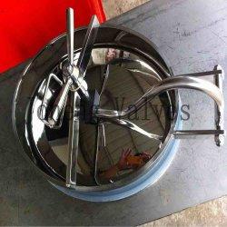Aço inoxidável Oval higiénica a Tampa do Tanque (JO-ML1001)
