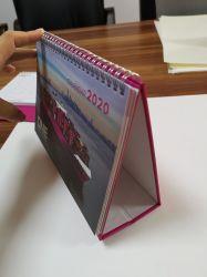 Oficina de tamaño estándar de fábrica mesa de alimentación de papel Calendarios Calendario mensual