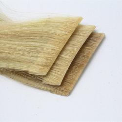 Новый продукт человеческого волоса Virgin волосы невидимая рука вставляется ручной работы 100% прав Virgin бразильского прямые волосы газа ленты удлинитель волос Реми волос