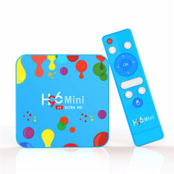 Android 9.0 4ГБ 32g/128g WiFi 2.4G/5g Bt H96 мини-H6 6K Android Smart Internet TV .