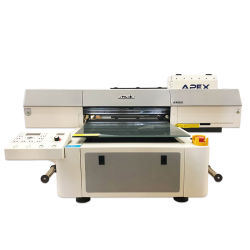 6090 УФ-принтер LED планшетный принтер для мобильных/расширительного бачка/стекла/ноутбука