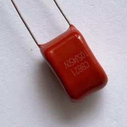 Cbb21/Cbb22、105j、250VDC/450VDC/630VDCは高周波、DC、AC、パルスおよび軽減する回路に使用したポリプロピレンのフィルムのコンデンサーを金属で処理した