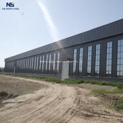 Industrieller kommerzieller Baustahl-Lager-Aufbau-vorfabrizierter Stahlaufbau