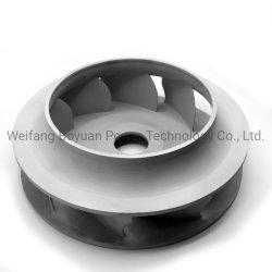 레일에 사용되는 정밀 주조 알루미늄 합금 원심 팬 임펠러 트랜짓 환기 시스템