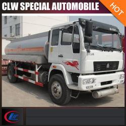 El chino tanque de petróleo del carro del transporte del combustible de 4X2 4000gallon 12mt
