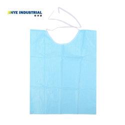 A Bib Neckerchief descartáveis guardanapo dentária lenço de papel azul toalhas Bibs materiais de odontologia
