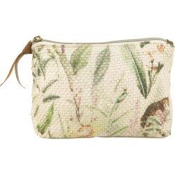 Nuovo sacchetto dell'estetica di corsa di stile della signora Woven Braided Paper Jungle