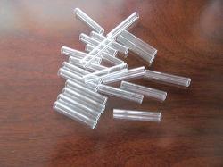 El fusible el tubo de vidrio