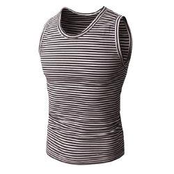 Camiseta de entrenamiento de gimnasio de alta calidad sin mangas Crazy Para hombres