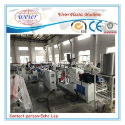 PE/PP Holz-Plastikzusammengesetzte (WPC) Strangpresßling-Zeile (Ein)
