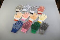 Luvas de algodão/China luvas/luvas mais barato/600 Grama luvas/Pontos de PVC luvas/fios de cores pontos PVC luvas/revestidas de látex e luvas de nitrilo luvas revestido
