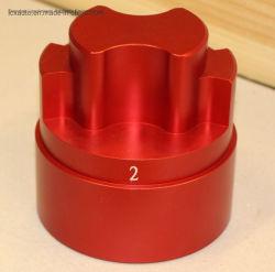 Настраиваемые сталь/Алюминий/латуни и пластмассовый Precision механизма со стороны