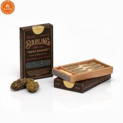 Papier komt overeen met de gedrukte Roll Joint Hemp sigaret Box