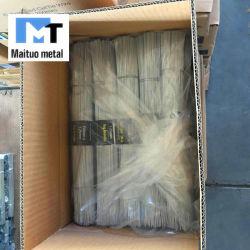 Cortar o fio de aço 350mm-750mm para construções de fio de Encadernação arame galvanizado/Preto Fio anelada