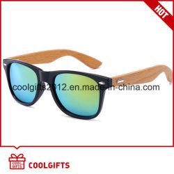 Novo Dom Polorized Bambu artesanais óculos de sol