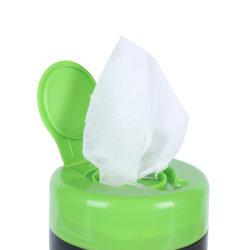 Fabricante de China el 75% de alcohol de limpieza portátil las toallitas húmedas Toallitas Desinfectantes antibacterianos toallitas de barril de esterilización