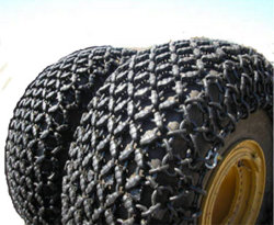 OTR Tyre/Tire (grondverzetmachineband, laderband) Protection Chain