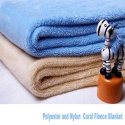 100% poliéster Micro Fleece Fabricante de tejido de felpa Coral