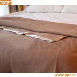 Couverture de laine de luxe de couleur unie pour l'hôtel L'utilisation