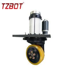 人気の 2.5kw フォークリフト駆動輪 200W ステアリングモーター AGV ホイール (TZA-DA25S02)
