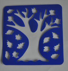 Estêncil de plástico, Modelo de desenho para crianças de Certificado Reach