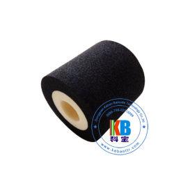 La transferencia de calor rodillo de tinta de color negro sólido 35*30 para el envasado de la máquina impresora