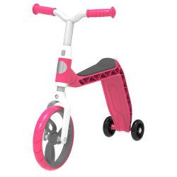 新しい押しのバランスのバイクは鋼鉄ボディ空気タイヤが付いている乗馬の自転車をまたはからかう