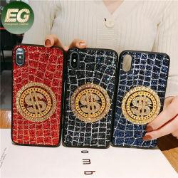 PC017 Rotation de décompression US Dollar iPhone 6/6plus/7/8/8 plus/X/XS/Xr/couvercle Xsmax TPU Fancy Diamond oppo Vivo cas Téléphone
