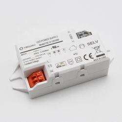 Driver corrente costante su ordinazione del driver 12W 350mA 500mA 700mA LED della plastica LED della fabbrica della Cina