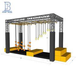 Caixa Quadrada de alumínio 12 polegadas parafuso guerreiro ninja obstáculos Truss