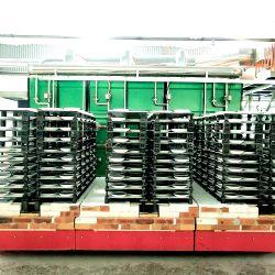 Forno de transporte de gás de porcelana para produção Sanitaryware