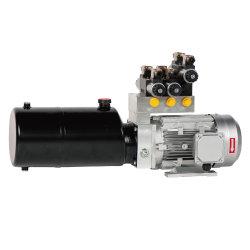 Гидравлический силовой агрегат на 220 в 380 в для машин с несколькими шинами Функции