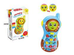 Teléfono móvil de la música de aprendizaje de los juguetes de bebé celular Emulational juguetes con pantallas con luz y sonido H2035350