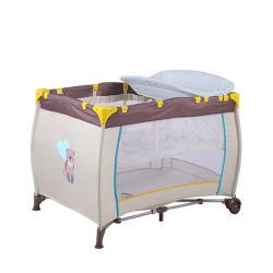 Cómodo y elegante producto nuevo de 2020 Bolsa de dormir plegable portátil de viaje cuna cama plegable cama Playard Cuna de bebé Corrales