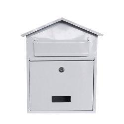 ポストの金属の外部メールの壁に取り付けられた結婚式の招待状ボックス型の外のカスタムPostboxの文字ボックスポストボックス